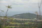台東石頭山:石頭山俯瞰志航基地及跑道對面的猴子山