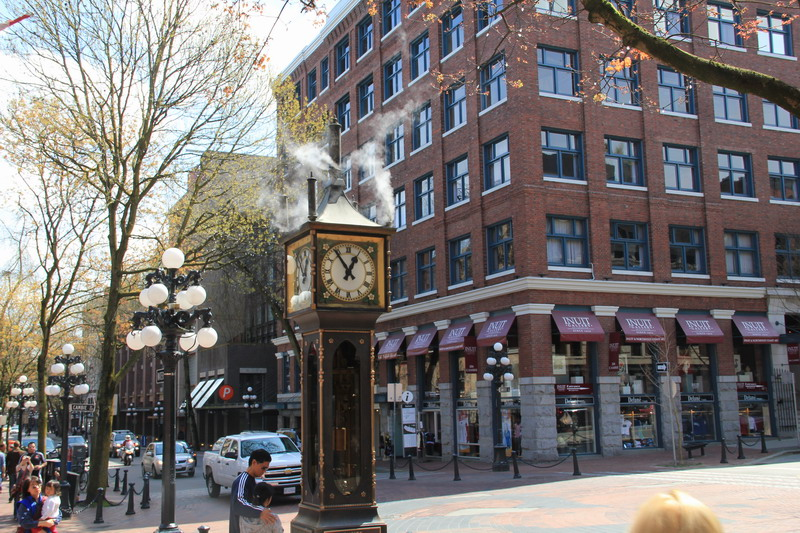 Steam Clock of Gastown, Vancouver:蒸汽鐘03