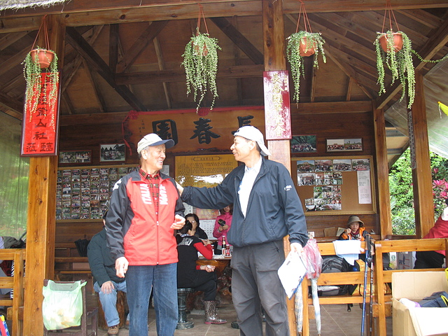 2010社長在鳶山長春園主持年會 - 大溝溪親水公園、圓覺寺步道
