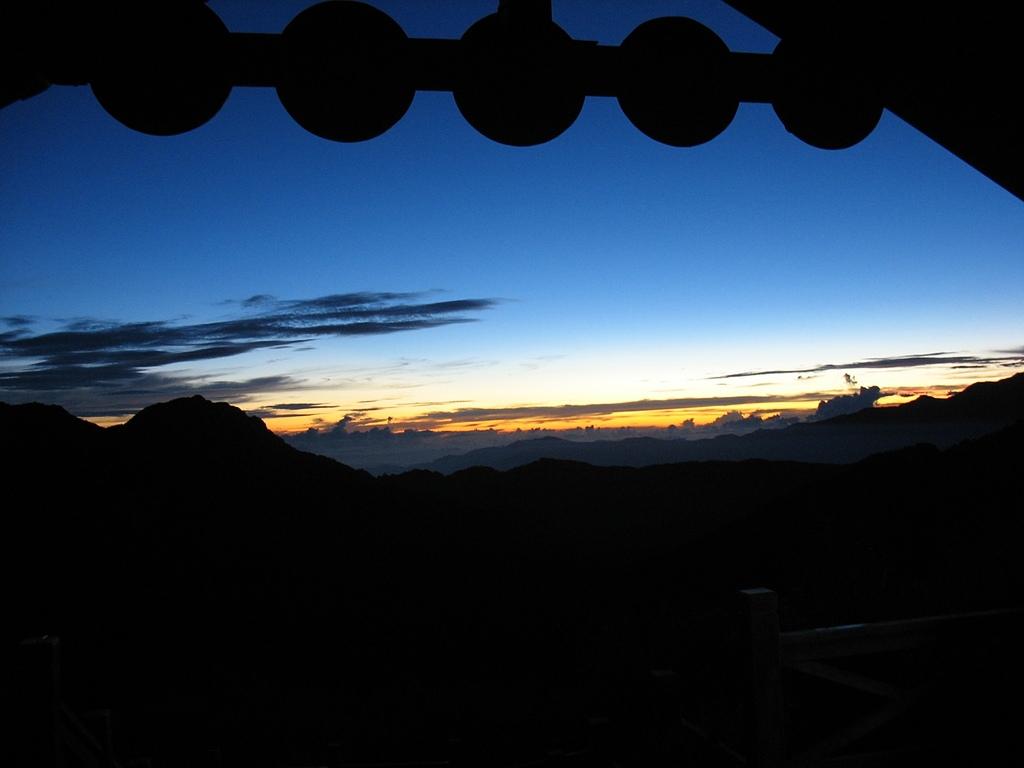 雪山主東三日:三六九山莊看日出