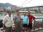 台北河濱公園單車道:碧潭西岸單車道終點2.jpg