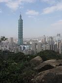 南港山小縱走:10鶴立雞群的台北101大樓.jpg