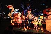 2013台灣燈會在新竹:劉興欽漫畫人物阿三哥與大嬸婆