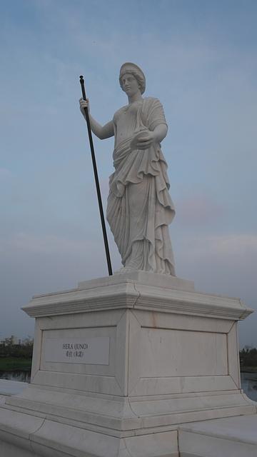 09奇美博物館 雕像 希拉:朱諾.jpg - 奇美博物館