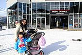 滑雪勝地惠斯勒:登上惠斯勒滑雪場的嬰兒車