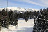 滑雪勝地惠斯勒:滑雪道一景
