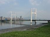 社子島基隆河單車行:重陽大橋