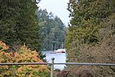 布查花園(Butchart Gardens):驚見海灣及遊艇