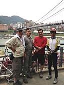 台北河濱公園單車道:碧潭西岸單車道終點.jpg