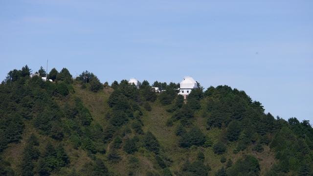 09麟趾山眺望台鹿林前山天文台.jpg - 麟趾山步道