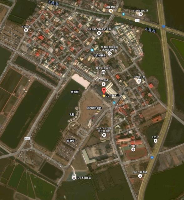 北門遊客中心旅遊地圖.jpg - 北門水晶教堂