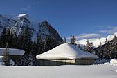 加國風光:露薏絲湖畔的雪景