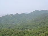 內湖三尖:三尖06鯉魚山東峰遠眺金面山連稜