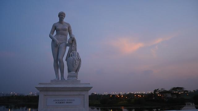 09奇美博物館 雕像 維納斯1.jpg - 奇美博物館
