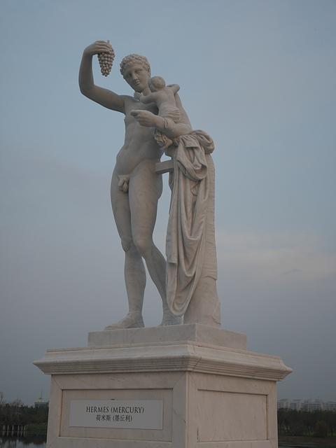 09奇美博物館 雕像 荷米斯:墨丘利.jpg - 奇美博物館