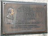 克利夫蘭水壩(Cleveland Dam):Cleveland紀念牌
