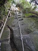 南港山峭壁總覽:58五號峭壁第二段仰望.jpg