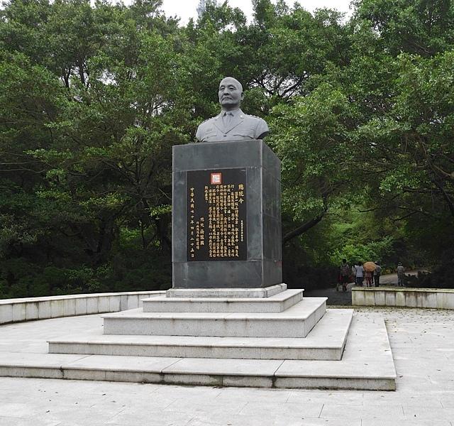 太武山玉章路劉玉章銅像 - 金門太武山