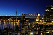 加國風光:溫哥華布拉德街大橋夜景