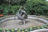 布查花園(Butchart Gardens):三鱘魚噴泉