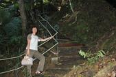 金瓜寮溪魚蕨步道:很陡的階梯