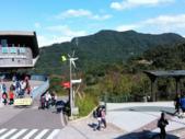 貓空:貓空站與猴山岳.gif