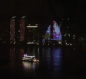 竹圍水紀元參觀:19水紀元淡水河夜景4.jpg