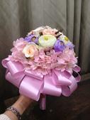 【歐式捧花】珠寶捧花 BY 小均設計製作(客製&出租):新娘花束捧花-純淨繽紛