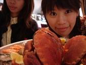 in France價值200歐元的海鮮大餐:螃蟹