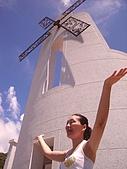風車教堂的訪客留影:DSC08248