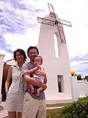 風車教堂的訪客留影:葉銘德全家福 2007/06/23