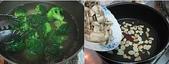 我家食堂~母親節牛排大餐DIY:燙花椰與炒磨菇