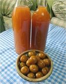 水果酒醋釀造屋:李子酒與渣.JPG