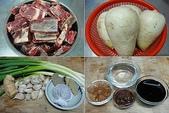 我家食堂~家常菜(一):白蘿蔔紅燒牛腩食材