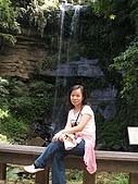竹坑溪步道:中途的小瀑布