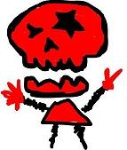 chi的塗鴉:Redskull