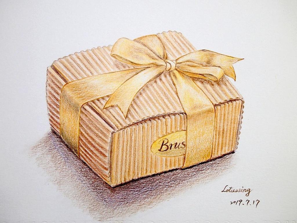 手工餅乾 - 色鉛筆手繪區03