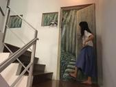牆壁彩繪(3D立體彩繪,夜光彩繪,住家彩繪,民宿彩繪,etc):12宜蘭旅館牆壁彩繪-(若輕新人文度假旅館)3d魔幻森林.JPG