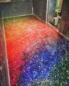 牆壁彩繪(3D立體彩繪,夜光彩繪,住家彩繪,民宿彩繪,etc):01台中地板彩繪-貨櫃(宇宙星空).JPG