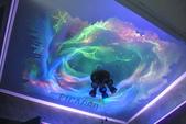 牆壁彩繪(3D立體彩繪,夜光彩繪,住家彩繪,民宿彩繪,etc):16台中星空彩繪-螢光夜光彩繪.JPG