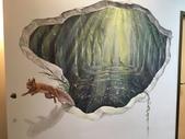 牆壁彩繪(3D立體彩繪,夜光彩繪,住家彩繪,民宿彩繪,etc):06宜蘭旅館牆壁彩繪-(若輕新人文度假旅館)3d魔幻森林5.JPG