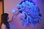牆壁彩繪(3D立體彩繪,夜光彩繪,住家彩繪,民宿彩繪,etc):08宜蘭民宿彩繪-3D海底世界夜光彩繪5.JPG