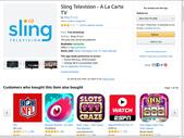 Blogger網誌分享用:Sling TV app