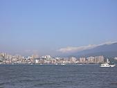 拉哩拉紮的照片:八里海邊,望向淡水