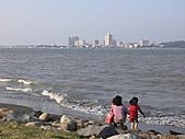 拉哩拉紮的照片:八里海邊