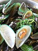 拉哩拉紮的照片:不同口味的孔雀蛤