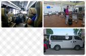 20191007_Panglao,Bohol Part 1:20181006-左上是我坐過最高級的機場接泊車了,領行李區竟然排滿了手推車,超貼心好有人情味