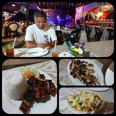 20191008_Panglao,Bohol Part 2:晚餐,找到一間有現場演唱,價格合理的戶外餐廳,菲律賓的燒烤真的厲害,豬五花好吃