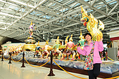 20090101斯米蘭、普吉島和曼谷:機場裏厲害的擺飾