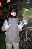 20090209鹽水蜂炮+新營+柳營:阿娟這只是標準裝備而已,其他人有很多進階版的裝扮